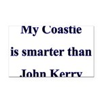 My Coastie is smarter than Jo Rectangle Car Magnet