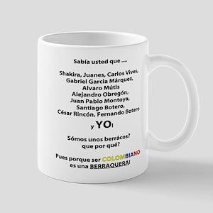 Colombianos famosos y yo Mug