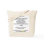 Colombianos famosos y yo Tote Bag