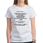 Colombianos famosos y yo Women's T-Shirt
