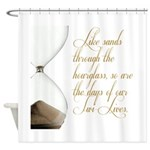 Days of our Twi-Lives Shower Curtain