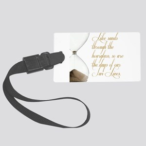 Days of our Twi-Lives Large Luggage Tag