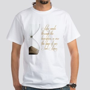 Days of our Twi-Lives White T-Shirt