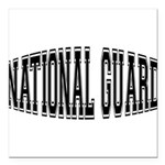 nationalguardbulge Square Car Magnet 3