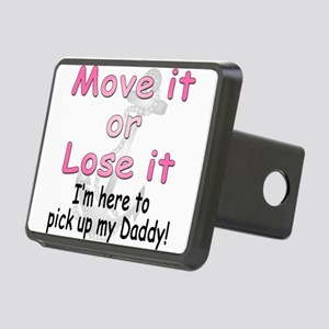 moveit or lose it44 copy Rectangular Hitch Cov