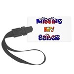 Missing My Sailor Large Luggage Tag