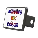 Missing My Sailor Rectangular Hitch Cover