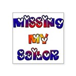 Missing My Sailor Square Sticker 3