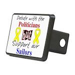 Debate Politicians but Suppor Rectangular Hitch Co