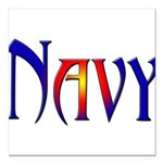 navyfunk2 Square Car Magnet 3