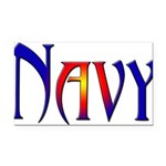navyfunk2 Rectangle Car Magnet