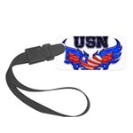 usnheartwing2 Small Luggage Tag