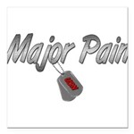 majorpainusn3 Square Car Magnet 3