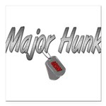 majorhunkusn3 Square Car Magnet 3