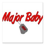 majorbabyusn Square Car Magnet 3