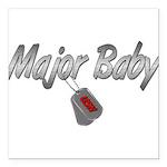 majorbabyusn3 Square Car Magnet 3