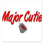 majorcutieusn Square Car Magnet 3