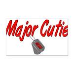 majorcutieusn Rectangle Car Magnet
