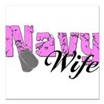 navywife99a Square Car Magnet 3