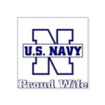 usnavyproudwife2 Square Sticker 3