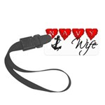 navywife11 Small Luggage Tag