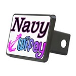 navywifey Rectangular Hitch Cover
