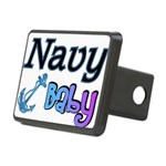 navybabyboy Rectangular Hitch Cover