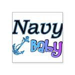 navybabyboy Square Sticker 3