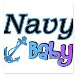 navybabyboy Square Car Magnet 3