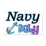 navybabyboy Rectangle Car Magnet
