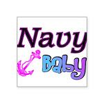navybaby Square Sticker 3