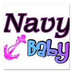 navybaby Square Car Magnet 3