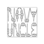 navyclawuncle2 Square Sticker 3