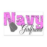 navyfgirlfriend99 Rectangle Car Magnet