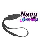 navygirlfriend9 Small Luggage Tag