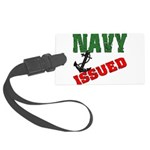 navyissued5 Large Luggage Tag