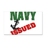 navyissued5 Rectangle Car Magnet