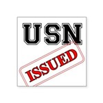 USN Issued Square Sticker 3