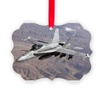 Military - aircraft Picture Ornament