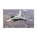 Military - aircraft Rectangle Car Magnet