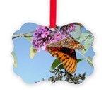 kids and butterflies050 Picture Ornament
