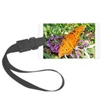 kids and butterflies046 Large Luggage Tag