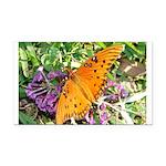 kids and butterflies046 Rectangle Car Magnet