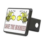 boobees8 Rectangular Hitch Cover