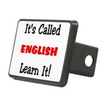 It's Called English Learn It Rectangular Hitch Cov