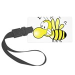 The Original Cute Bee Large Luggage Tag