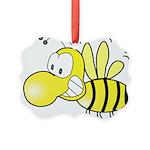 The Original Cute Bee Picture Ornament