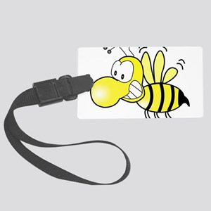Original Cute Stinger Bee Large Luggage Tag
