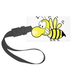 Original Cute Stinger Bee Large Luggage Tag