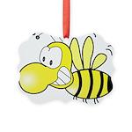 Original Cute Stinger Bee Picture Ornament